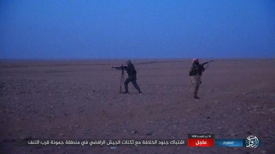 Anh: Phien quan IS tan sat dan quan Iraq o tinh Anbar-Hinh-3