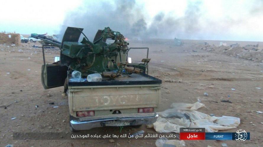 Anh: Phien quan IS tan sat dan quan Iraq o tinh Anbar-Hinh-6