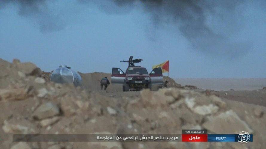 Anh: Phien quan IS tan sat dan quan Iraq o tinh Anbar-Hinh-9