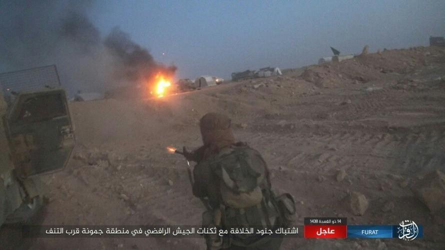 Anh: Phien quan IS tan sat dan quan Iraq o tinh Anbar