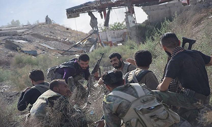 Anh: Quan doi Syria thua thang xoc toi o Dong Damascus