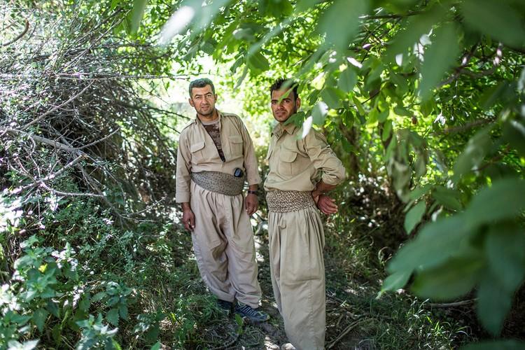 Cang thang bien gioi Iraq-Iran qua anh-Hinh-3