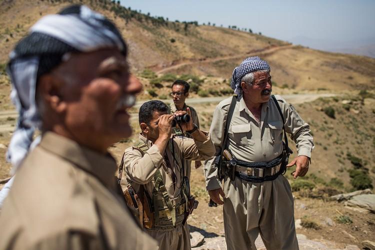 Cang thang bien gioi Iraq-Iran qua anh-Hinh-4