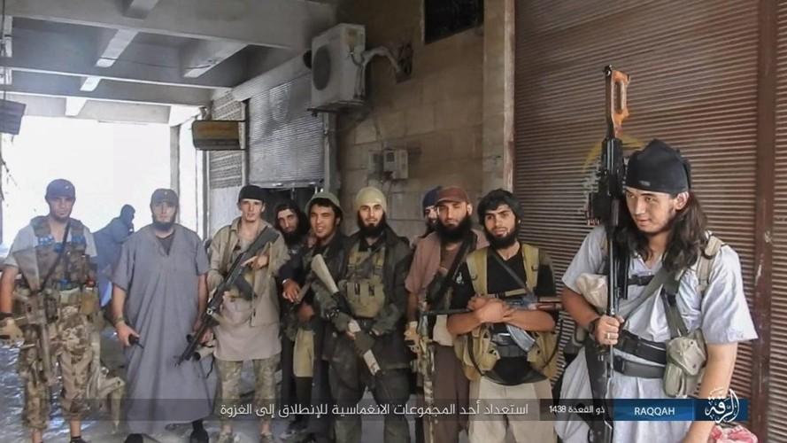 Anh: Phien quan IS khang cu ac liet nguoi Kurd o Raqqa-Hinh-10