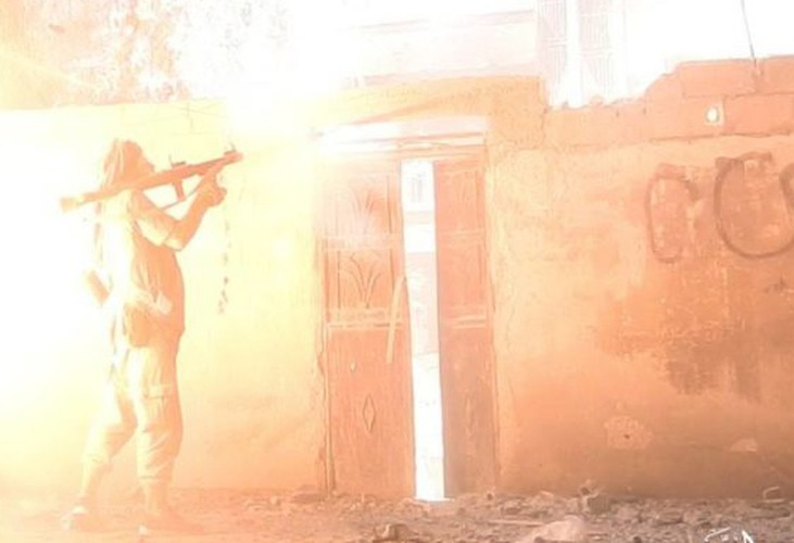 Anh: Phien quan IS khang cu ac liet nguoi Kurd o Raqqa-Hinh-11