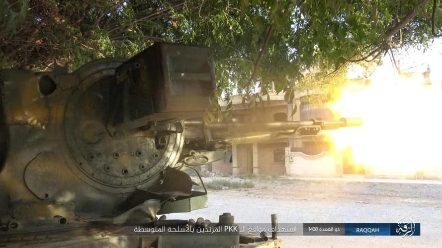 Anh: Phien quan IS khang cu ac liet nguoi Kurd o Raqqa-Hinh-5