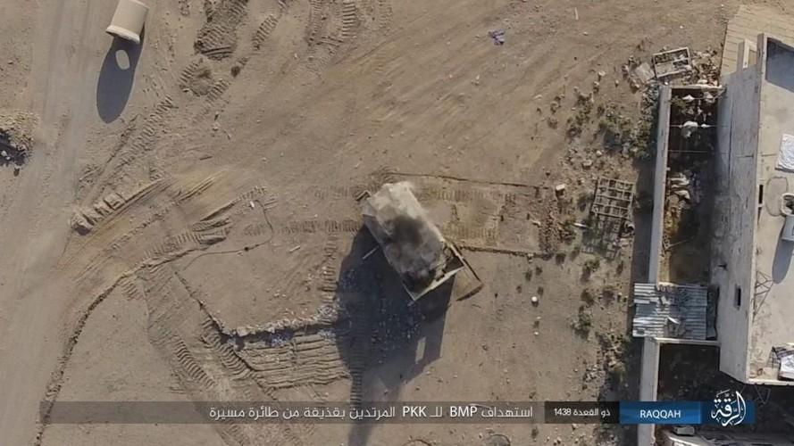 Anh: Phien quan IS khang cu ac liet nguoi Kurd o Raqqa-Hinh-9