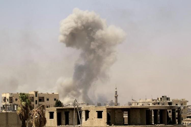 "Anh: SDF doc suc danh IS tai ""thu phu"" Raqqa-Hinh-10"