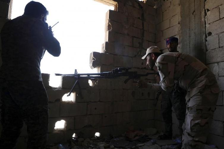 "Anh: SDF doc suc danh IS tai ""thu phu"" Raqqa-Hinh-7"