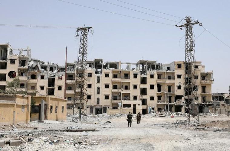 "Anh: SDF doc suc danh IS tai ""thu phu"" Raqqa-Hinh-9"