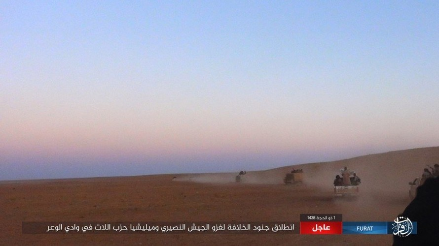 Anh: Phien quan IS phan cong du doi o mien nam Syria-Hinh-2