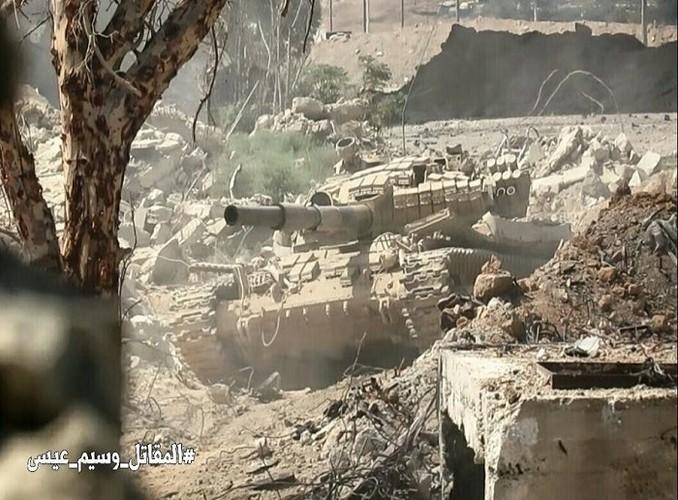 Chum anh Quan doi Syria thang lon o Dong Damascus