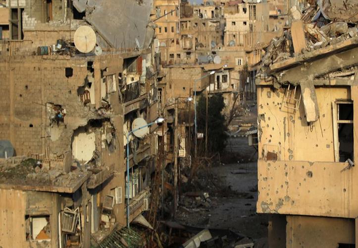 Anh: Quan doi Syria thua thang xoc toi o Deir Ezzor-Hinh-13