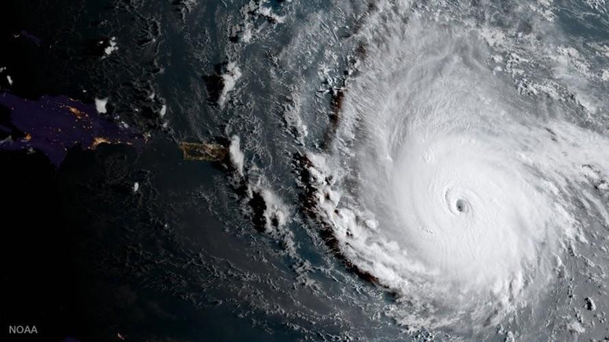 Sieu bao Irma manh nhat trong 30 nam sap tan cong nuoc My