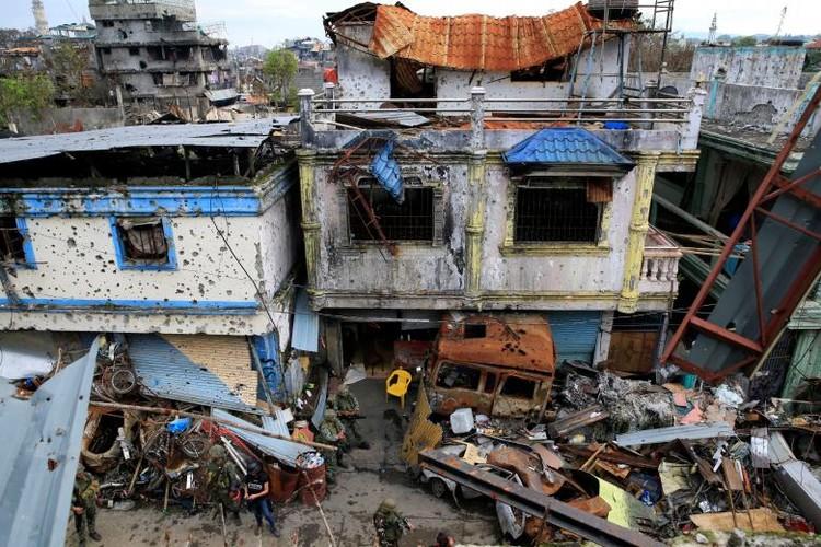 Khoc liet cuoc chien chua hoi ket o thanh pho Marawi-Hinh-11