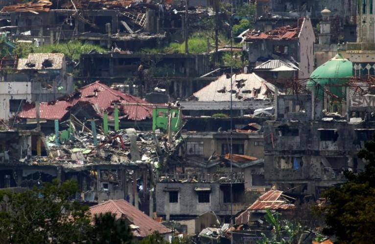 Khoc liet cuoc chien chua hoi ket o thanh pho Marawi-Hinh-7