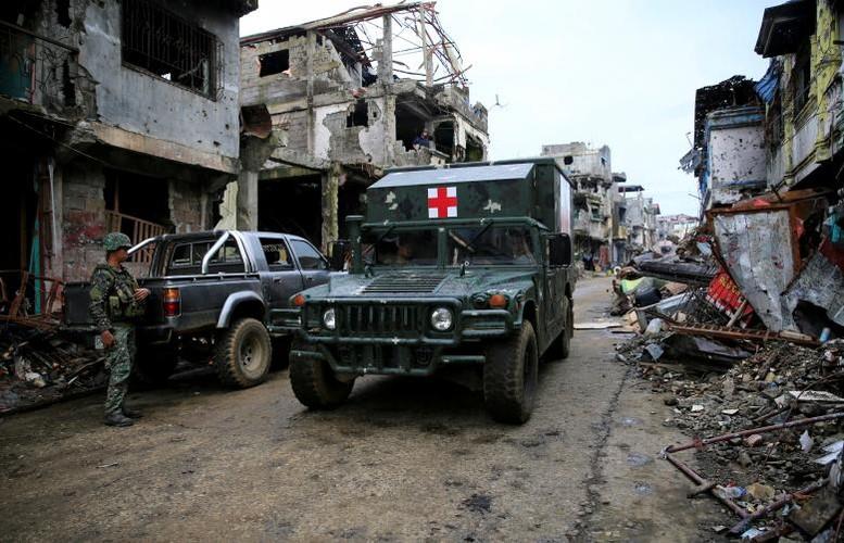 Khoc liet cuoc chien chua hoi ket o thanh pho Marawi-Hinh-9