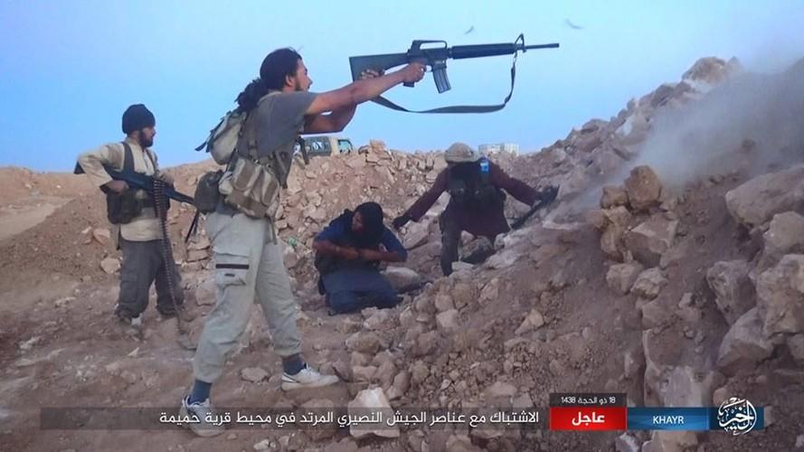 Anh: Phien quan IS chuyen  sang danh du kich o tinh Homs-Hinh-2