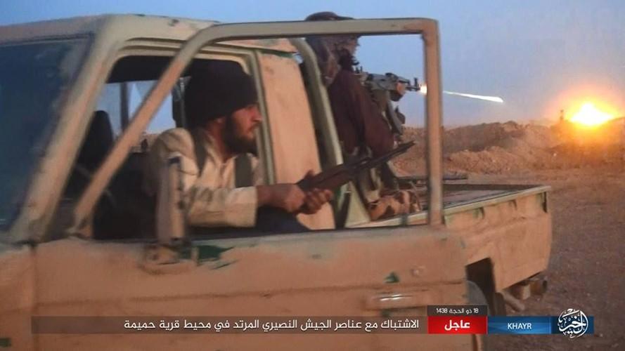 Anh: Phien quan IS chuyen  sang danh du kich o tinh Homs-Hinh-5