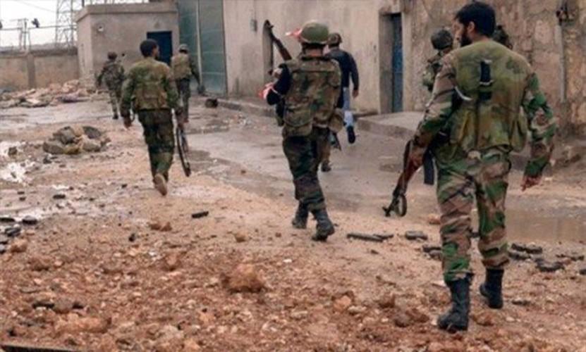 Anh: Quan Syria giai phong nhieu khu vuc o mien trung Syria-Hinh-7