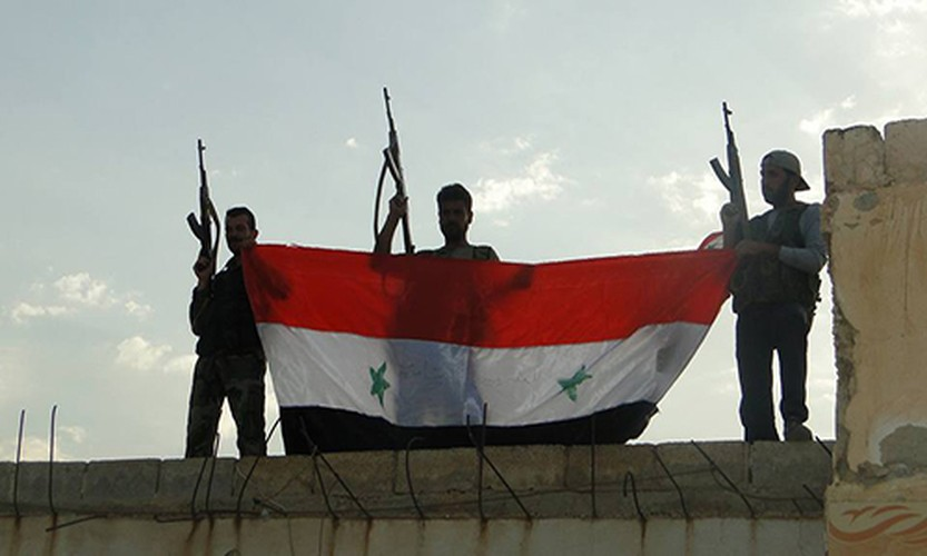 Anh: Quan Syria giai phong nhieu khu vuc o mien trung Syria