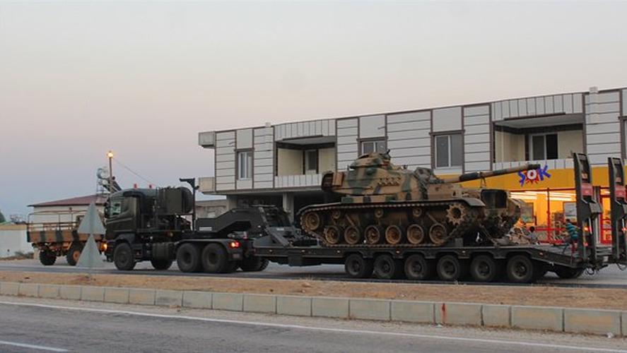 Anh: Tho Nhi Ky tap trung binh luc sat bien gioi voi Syria-Hinh-13