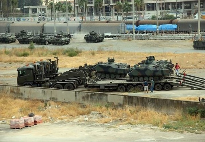 Anh: Tho Nhi Ky tap trung binh luc sat bien gioi voi Syria-Hinh-2