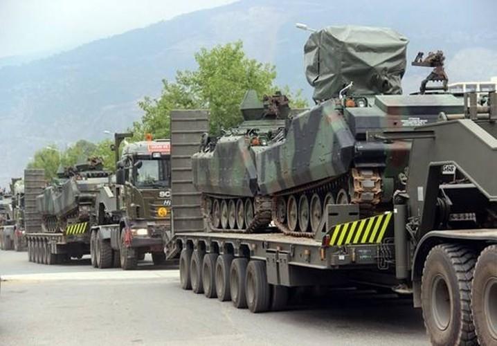 Anh: Tho Nhi Ky tap trung binh luc sat bien gioi voi Syria-Hinh-3