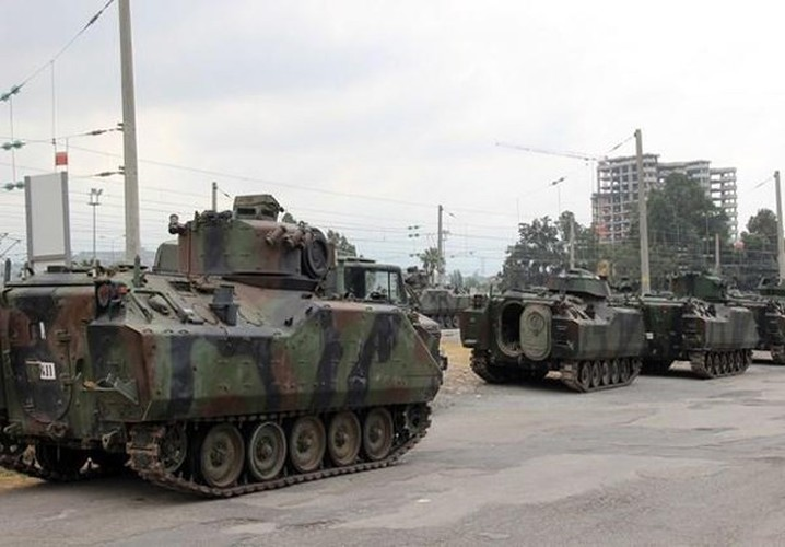 Anh: Tho Nhi Ky tap trung binh luc sat bien gioi voi Syria-Hinh-6