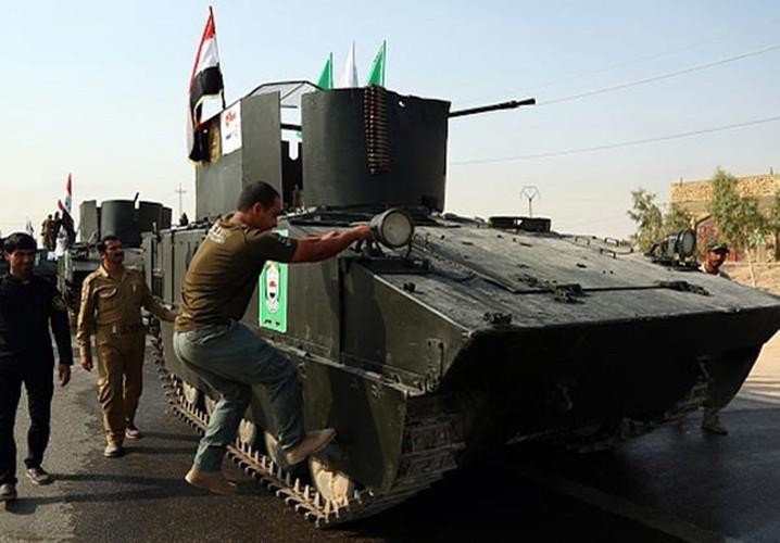 Anh: Dan quan Iraq dieu binh pho truong suc manh-Hinh-4