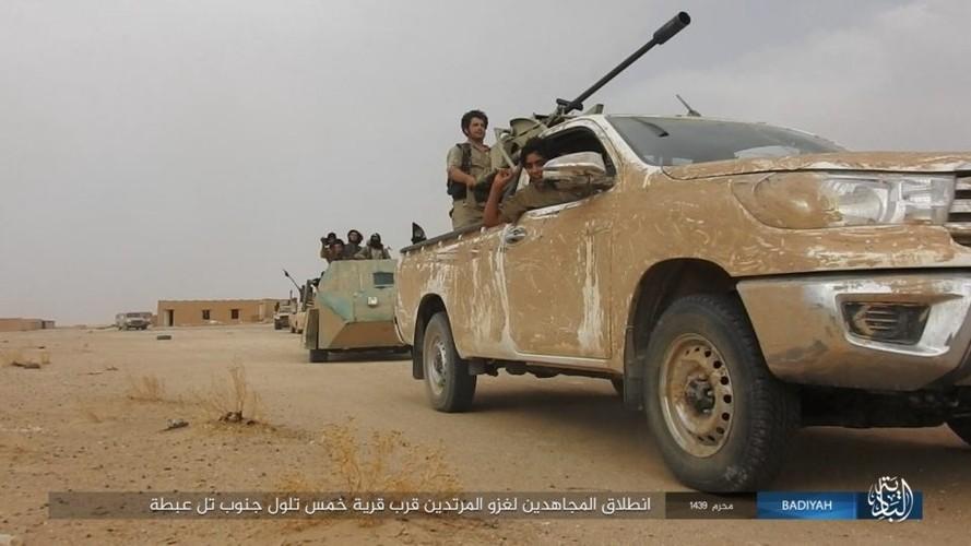 Anh: Khung bo IS tan cong du doi quan doi Iraq
