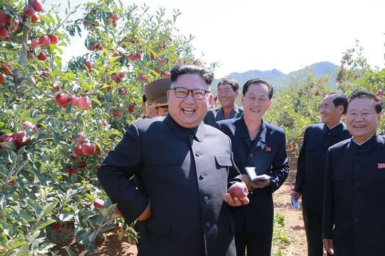 Lanh dao Kim Jong-un cuoi tuoi tham vuon tao triu qua-Hinh-2