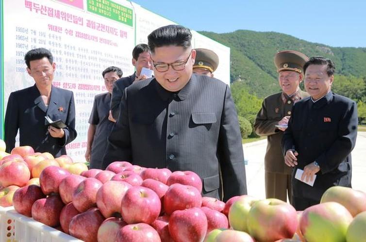 Lanh dao Kim Jong-un cuoi tuoi tham vuon tao triu qua-Hinh-5