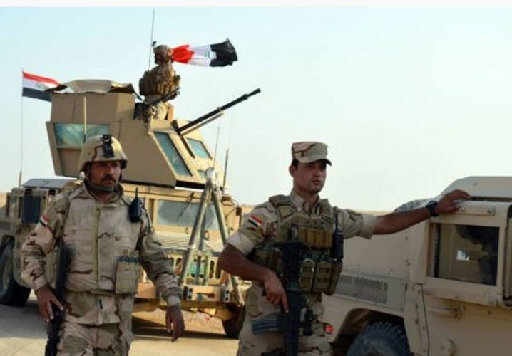 Anh: Iraq giai phong vung trong yeu gan bien gioi voi Syria-Hinh-5