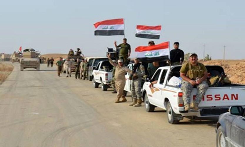 Anh: Iraq giai phong vung trong yeu gan bien gioi voi Syria