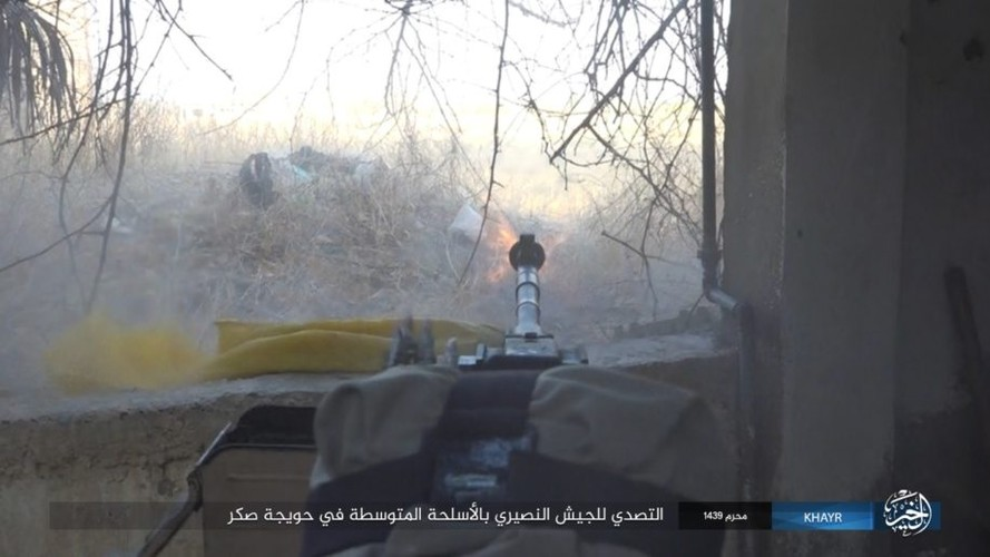 Anh: Phien quan IS chong tra du doi tren dao Sakr chien luoc