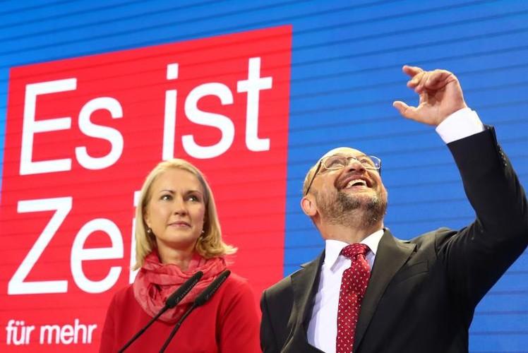 Anh: Thu tuong Merkel thang loi dang cay trong bau cu Duc-Hinh-11