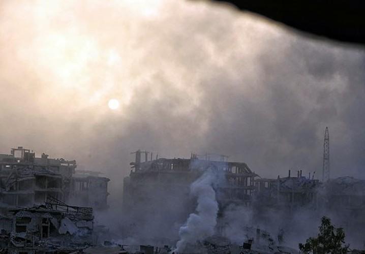 Anh: Quan Syria tan cong du doi khung bo o Dong Damascus-Hinh-4