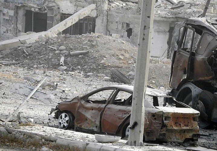 Anh: Quan Syria tan cong du doi khung bo o Dong Damascus-Hinh-9