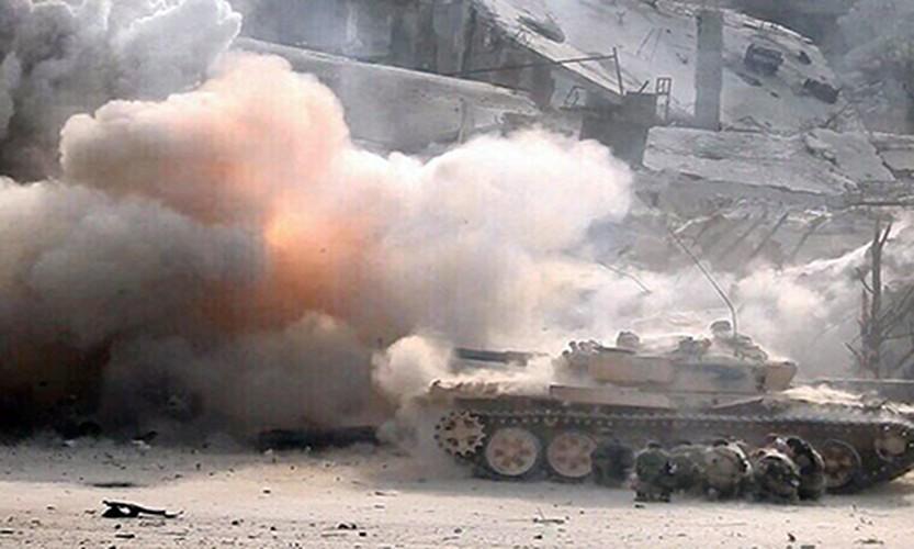 Anh: Quan doi Syria lai thang lon o Dong Damascus