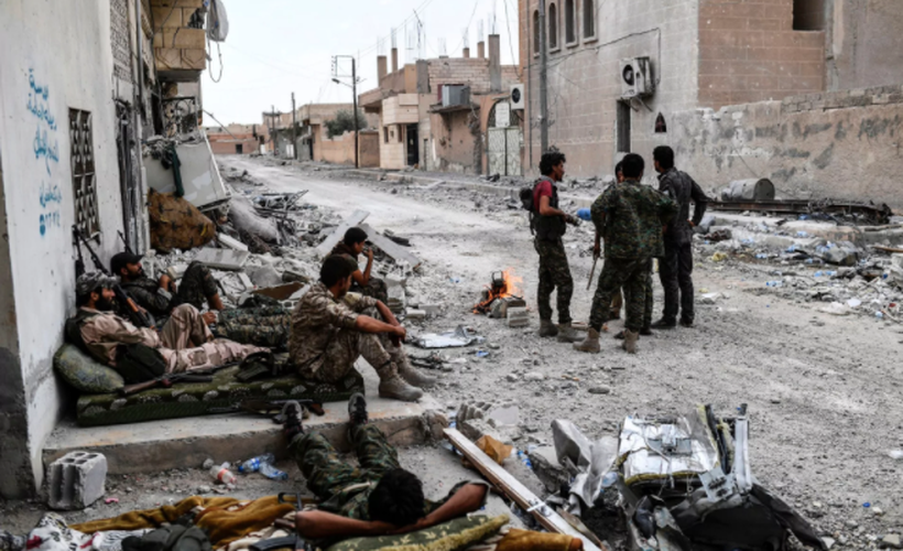 Anh: SDF don suc diet sach phien quan IS o Raqqa-Hinh-12