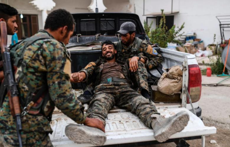 Anh: SDF don suc diet sach phien quan IS o Raqqa-Hinh-13