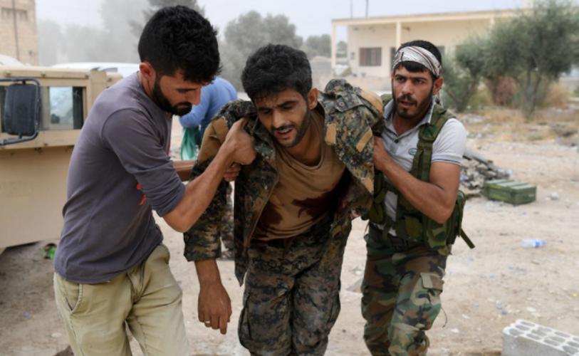Anh: SDF don suc diet sach phien quan IS o Raqqa-Hinh-4