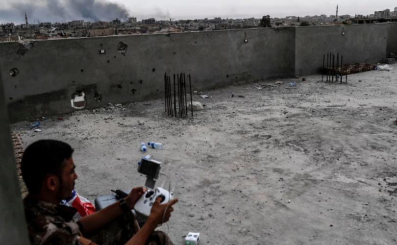 Anh: SDF don suc diet sach phien quan IS o Raqqa-Hinh-6