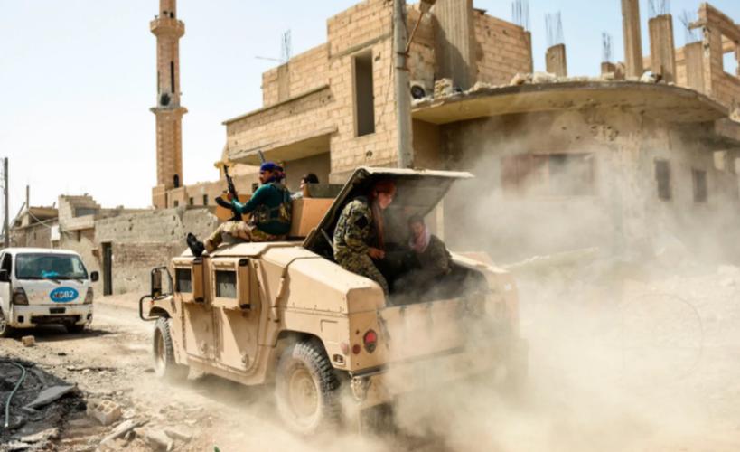 Anh: SDF don suc diet sach phien quan IS o Raqqa-Hinh-8