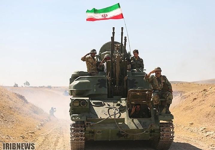 Anh: Iraq-Iran ram ro tap tran quan su chung