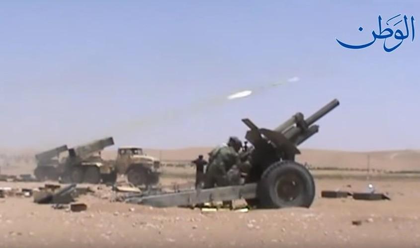 Anh: Quan doi Syria o at tan cong thanh pho Mayadin-Hinh-3