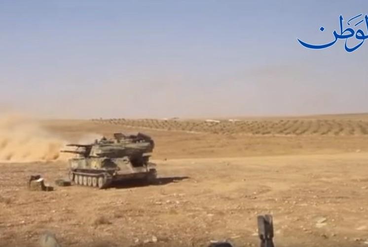 Anh: Quan doi Syria o at tan cong thanh pho Mayadin-Hinh-6