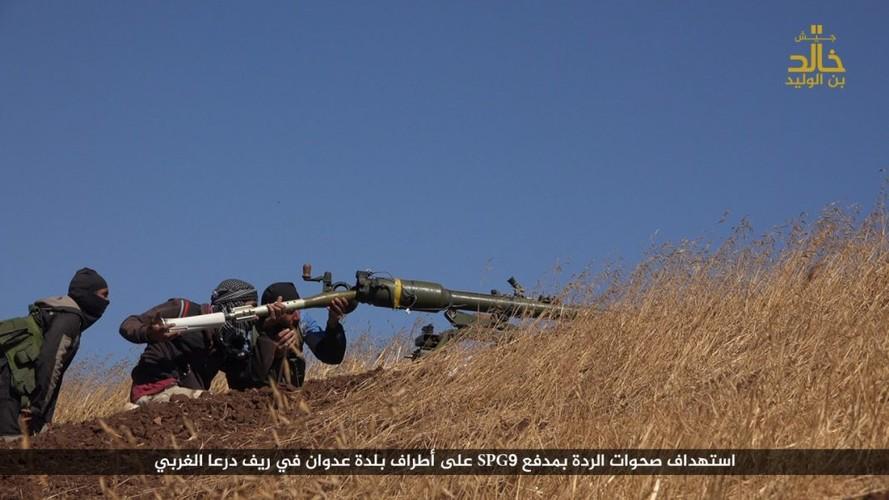 Anh: Phien quan IS danh nhau voi FSA o Cao nguyen Golan-Hinh-2