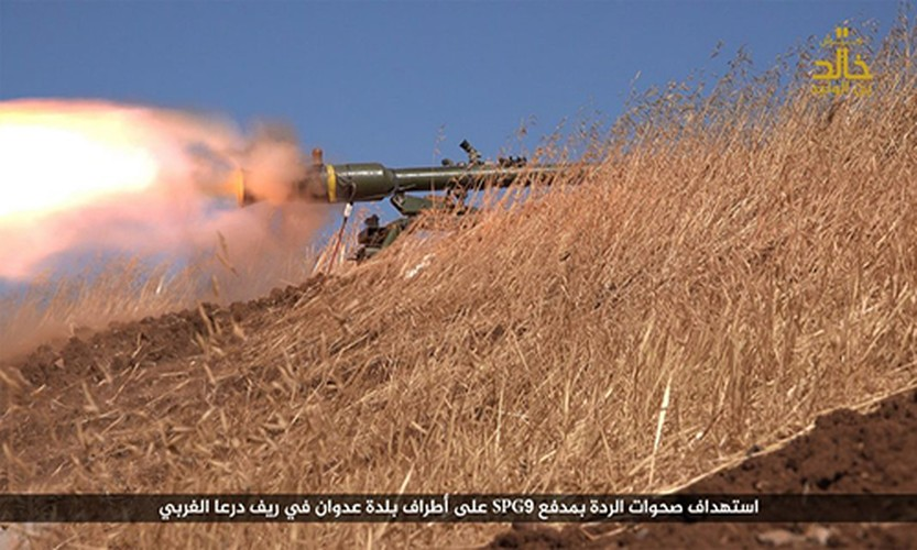 Anh: Phien quan IS danh nhau voi FSA o Cao nguyen Golan-Hinh-3